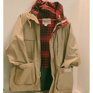 WOOLRICH WOMAN Vintage ARCTIC PARKA Hooded LARGE